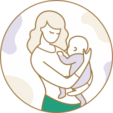 illustration-mom-baby-m